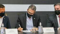Governador participa de lançamento do Centro Integrado de Inteligência de…