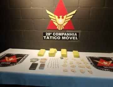 Polícia Militar prende autores por tráfico de drogas no Olavo Costa