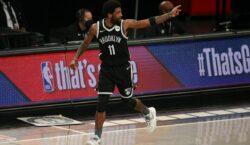 NBA espera que Kyrie Irving mude de ideia e se vacine contra covid-19