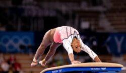 Mundial de Ginástica: Rebeca Andrade avança a 3 finais de aparelhos