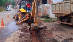 Bairro Previdenciários recebe mais 50 metros de novas redes de…