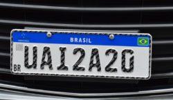 Nova placa de identificação veicular já está em vigor em…