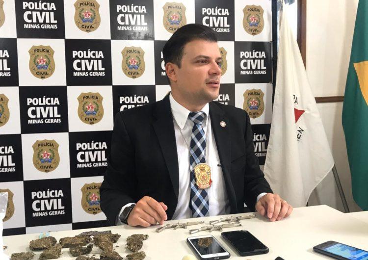 Polícia Civil prende homem de 29 anos por fazer entrega de drogas
