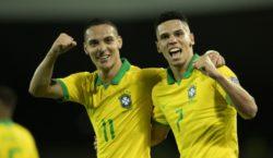 Brasil derrota Peru na estreia do Pré-Olímpico