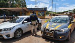 PRF recupera veículo que havia sido roubado em 2018 no…