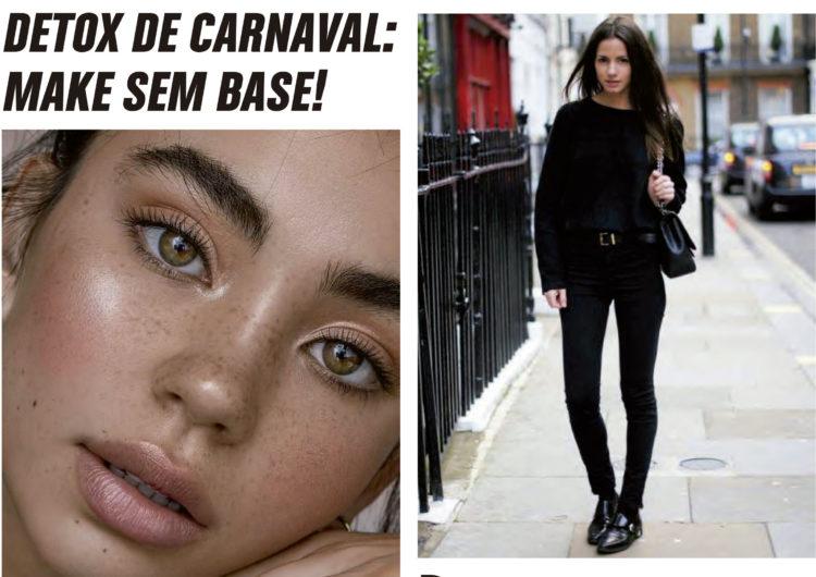 DETOX DE CARNAVAL: MAKE SEM BASE!